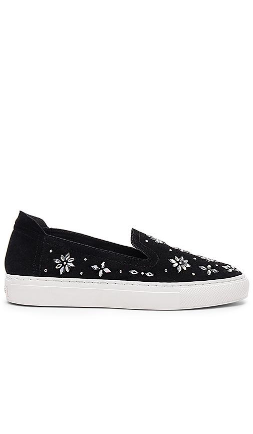 RACHEL ZOE Burke Crystal Sneaker in Black