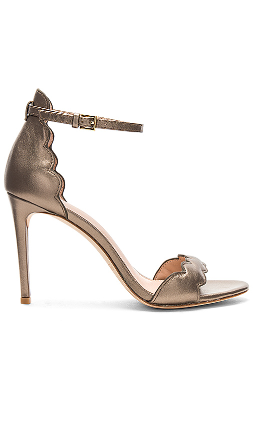 RACHEL ZOE Ava Heel in Metallic Bronze