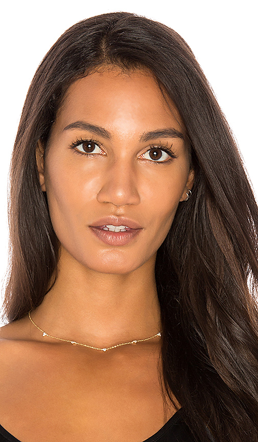 Sachi x REVOLVE Trio Diamond Necklace in Metallic Gold