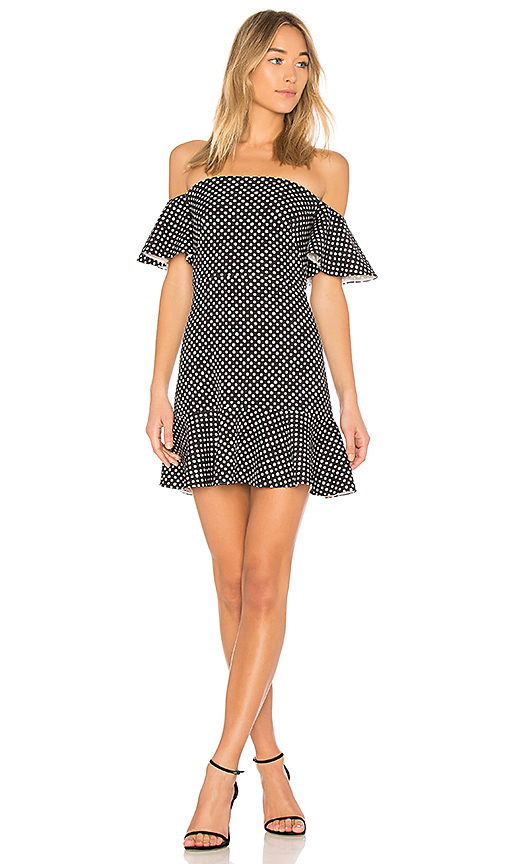 Photo of SALONI Amelia Dress in Black - shop SALONI dresses sales
