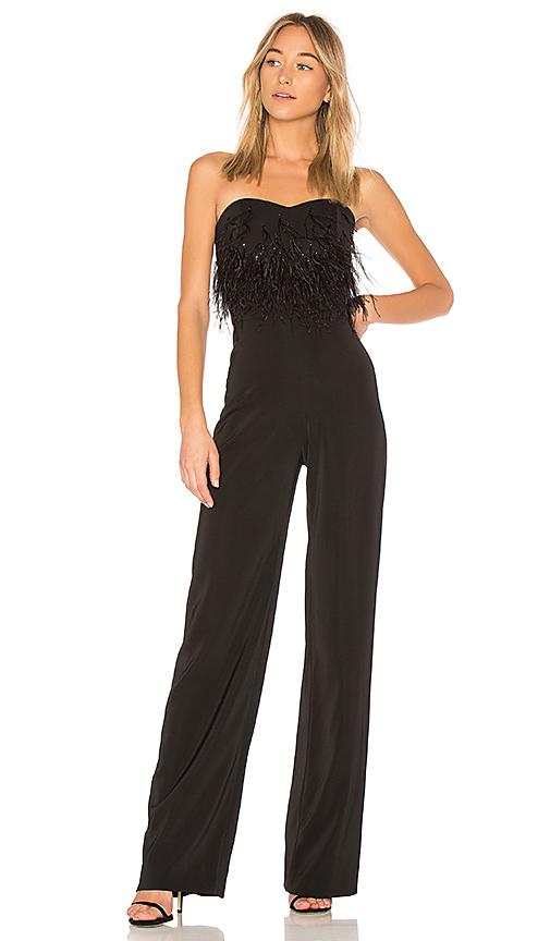SALONI Aurelie Jumpsuit in Black. - size 4 (also in 0,2)