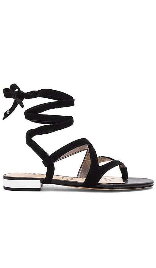 Sam Edelman Davina Sandal in Black