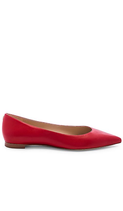 Sam Edelman Sally Flat in Red