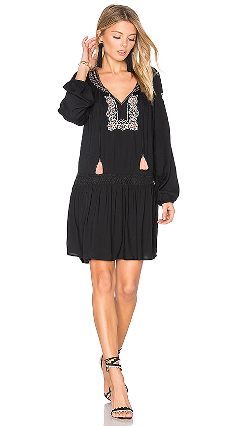 Sanctuary Freya Mini Dress in Black