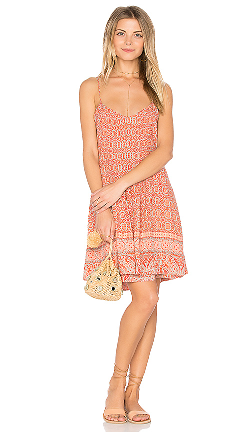 Sanctuary Spring Fling Dress in Coral