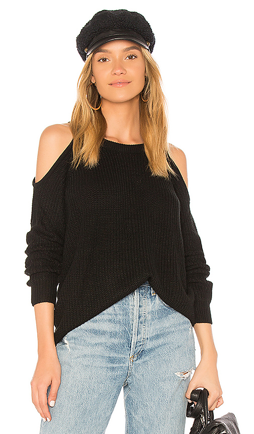 Sanctuary Riley Sweater in Black. - size XS (also in L,M,S)