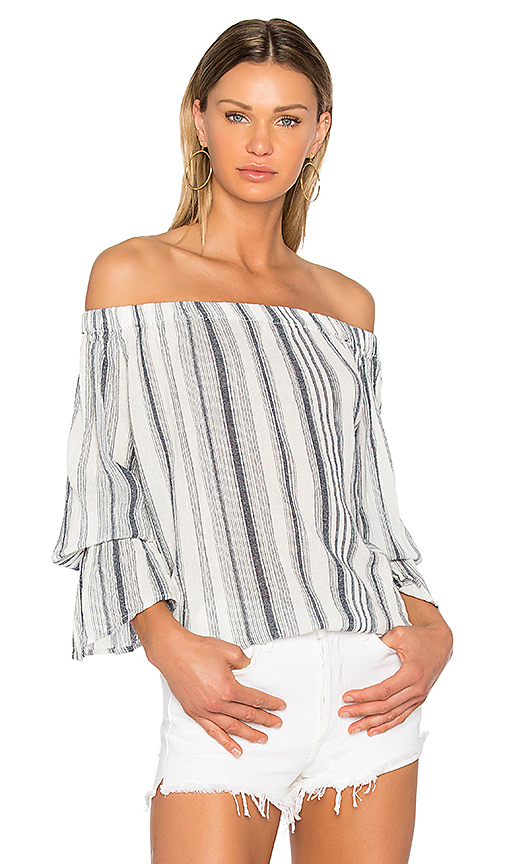 Sanctuary Charlotte Top in Navy