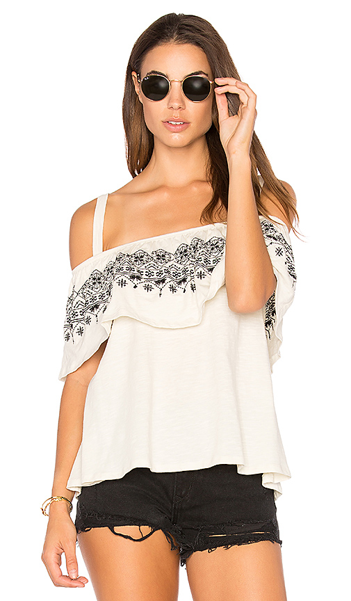 Sanctuary Helena Top in Ivory