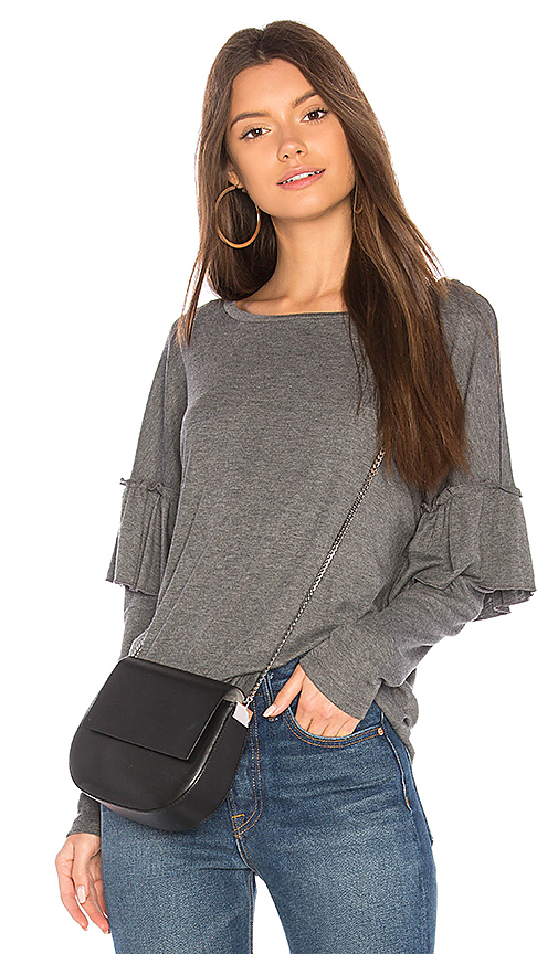 Sanctuary Naomi Tee in Gray. - size XS (also in L,M,S)