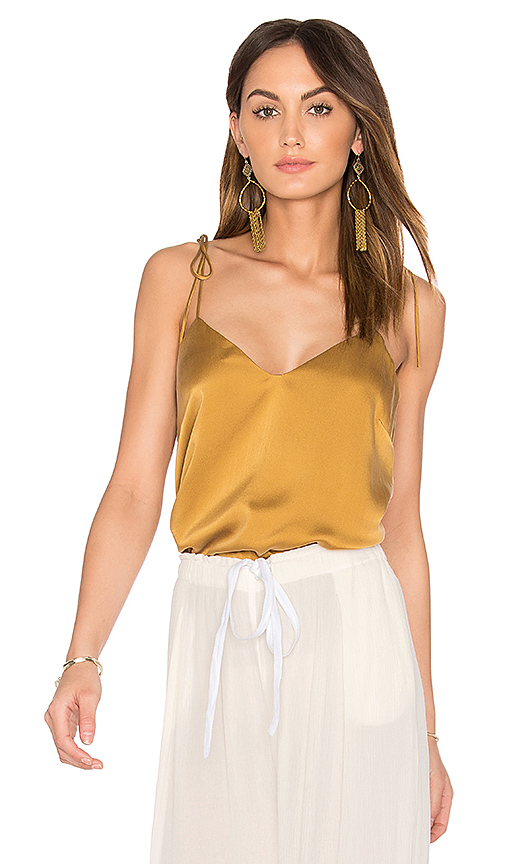 SAM & LAVI Cami Top in Tan. - size L (also in M)