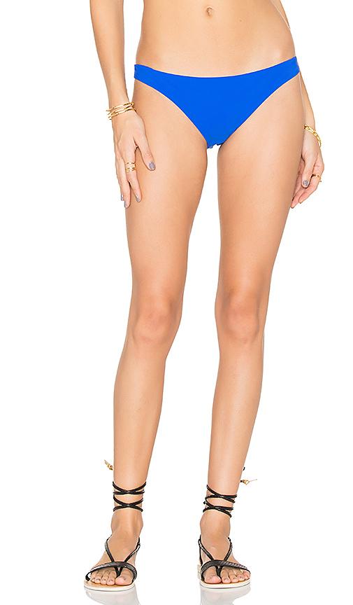 Sauvage Mon Cheri Low Rise Bikini Bottom in Blue