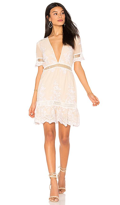 SAYLOR Alexa Dress in Cream
