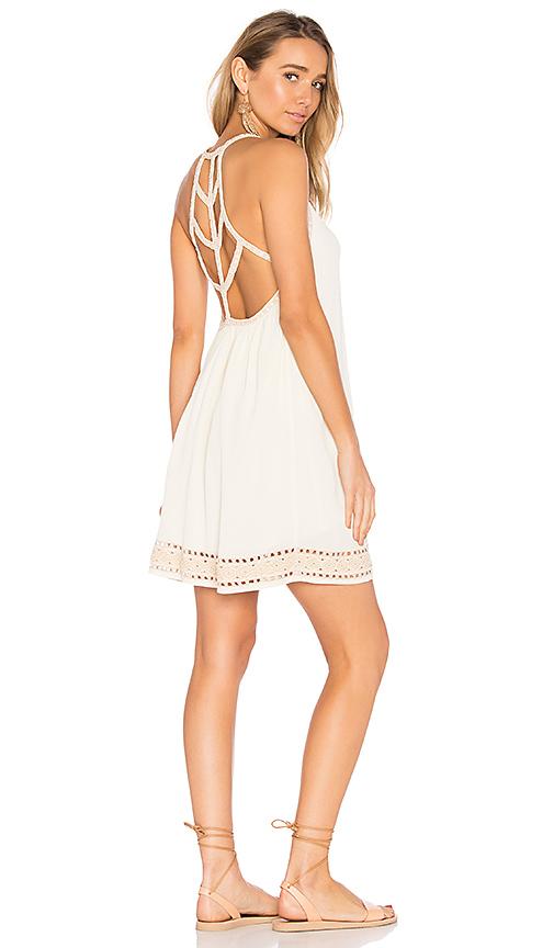 SAYLOR Wren Dress in White