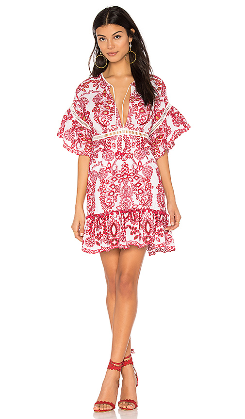 SAYLOR Daphne Dress in Red