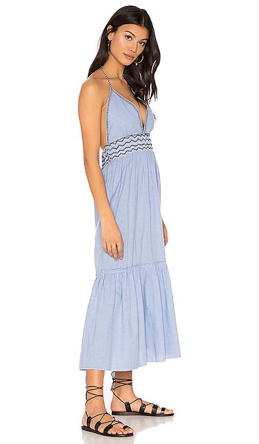 SAYLOR Kat Dress in Blue