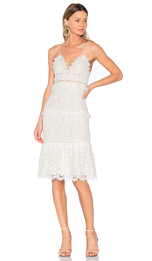 SAYLOR Andra Dress in White