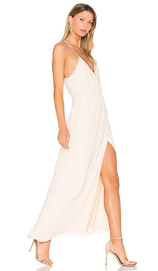 SAYLOR Lilith Dress in Blush