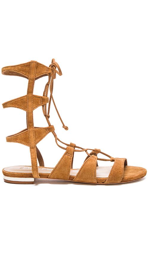 Schutz Erlina Sandal in Cognac
