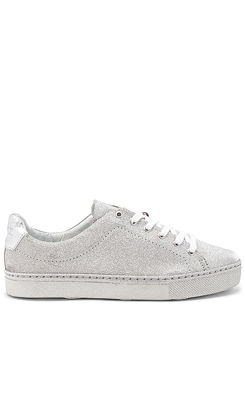 Schutz Chayton Sneaker in Metallic Silver