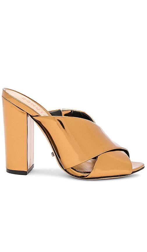 Photo of Schutz Maisie Mule in Metallic Bronze - shop Schutz shoes sales