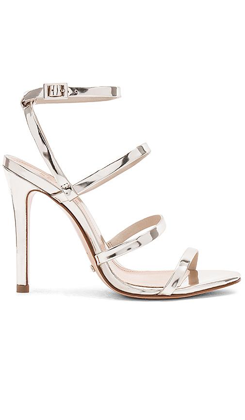 Schutz Ilara Heel in Metallic Silver