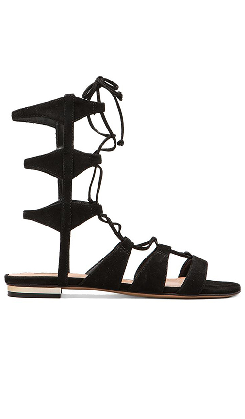 Schutz Erlina Sandal in Black