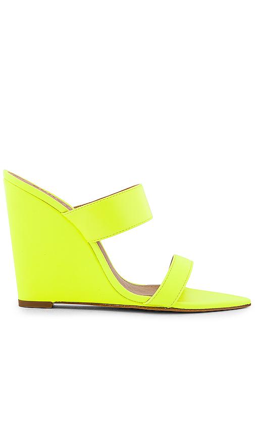 Schutz Soraya Wedge in Yellow. - size 6 (also in 5.5,6.5,7,7.5,8,8.5,9)
