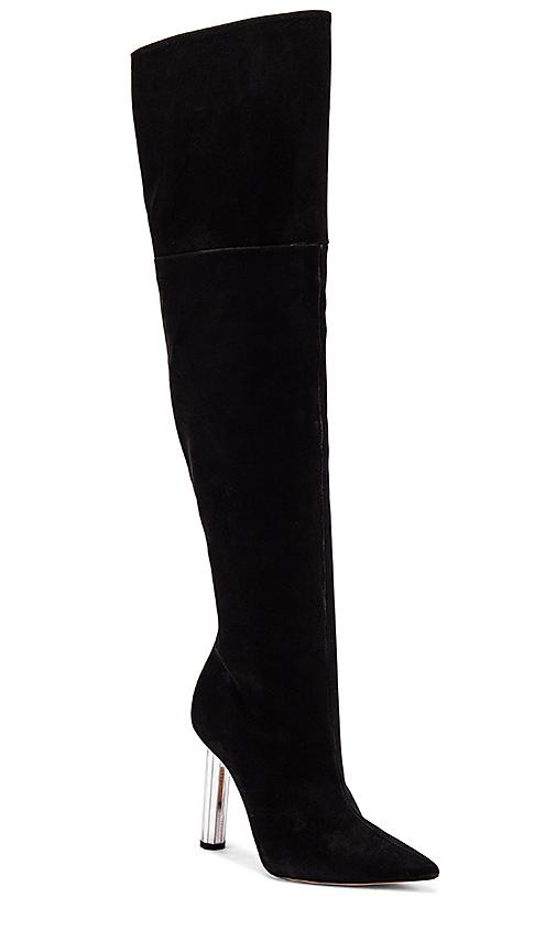 Schutz Hestia Boots in Black