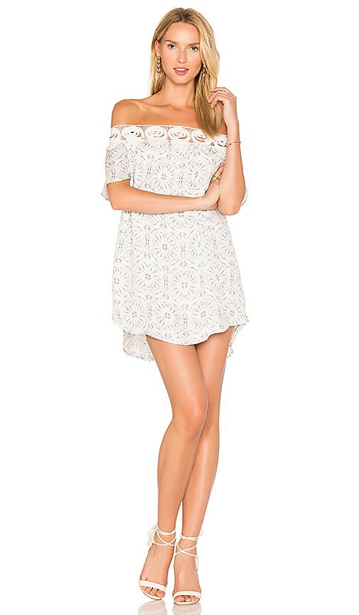 STONE COLD FOX Chiara Dress in White