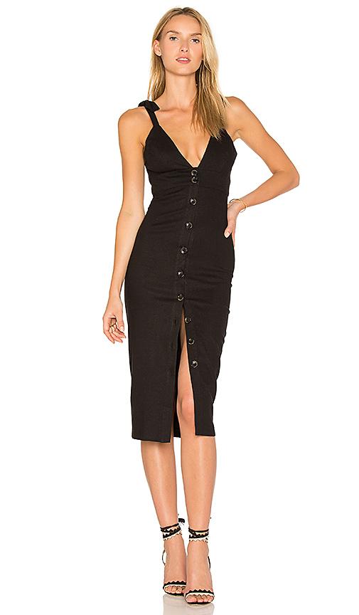 STONE COLD FOX Milan Dress in Black