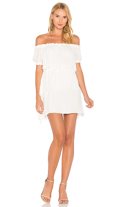 STONE COLD FOX Liberty Dress in White