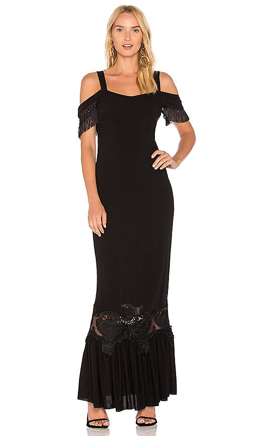 STONE COLD FOX Hampton Gown in Black