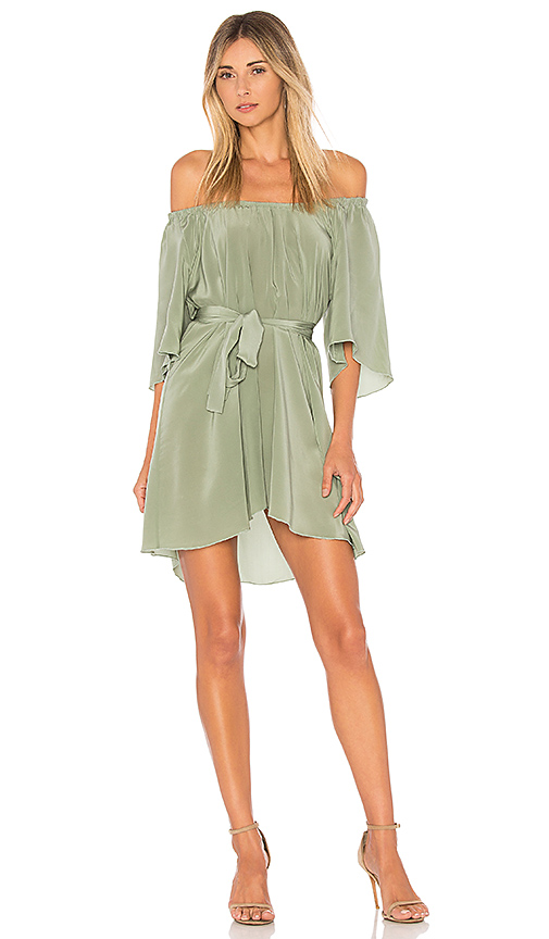 STONE COLD FOX x REVOLVE Shadmoor Dress in Green