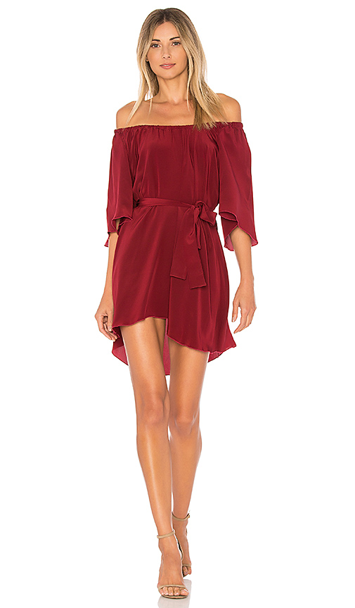 STONE COLD FOX x REVOLVE Shadmoor Dress in Red