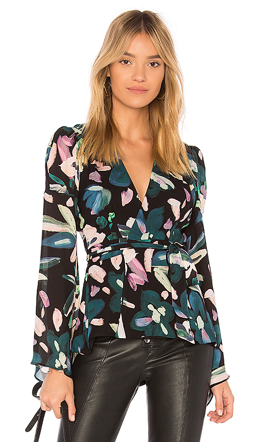 STONE COLD FOX Beverly Blouse in Black