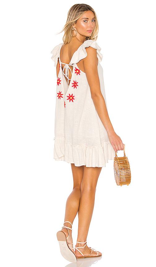 Sundress SUNDRESS MIMI SHORT DRESS IN BEIGE.