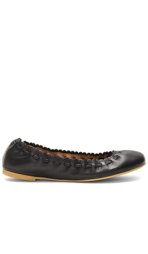 See By Chloe Ballet Flat in Black