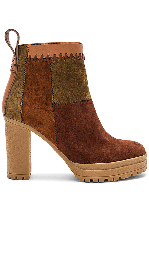 See By Chloe Polina Bootie in Brown