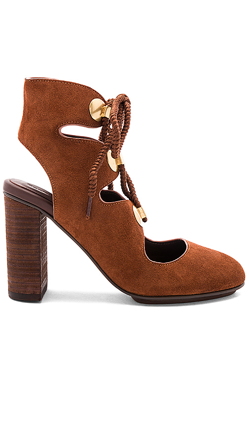 See By Chloe Edna Heel in Brown