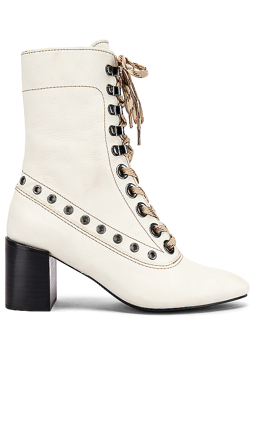 See By Chloé Boots SEE BY CHLOE SOPHIA BOOT IN IVORY.