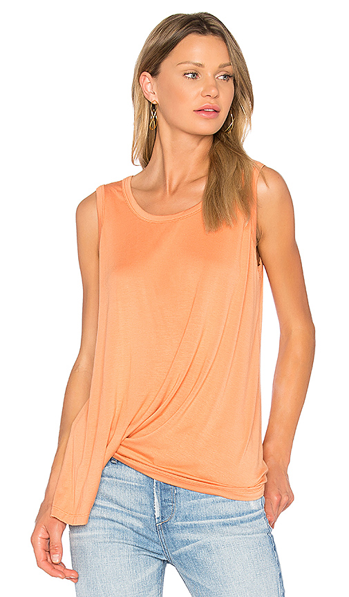 sen Tania Tank in Orange