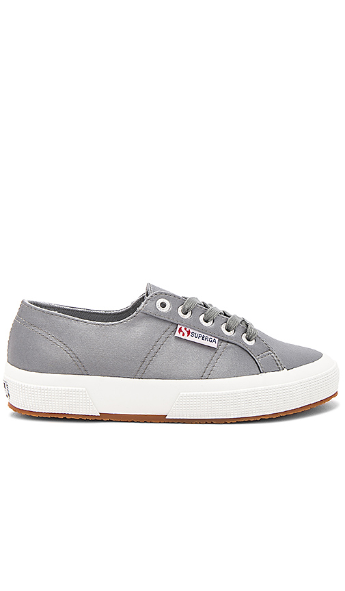 Superga 2750 Satin Sneaker in Charcoal