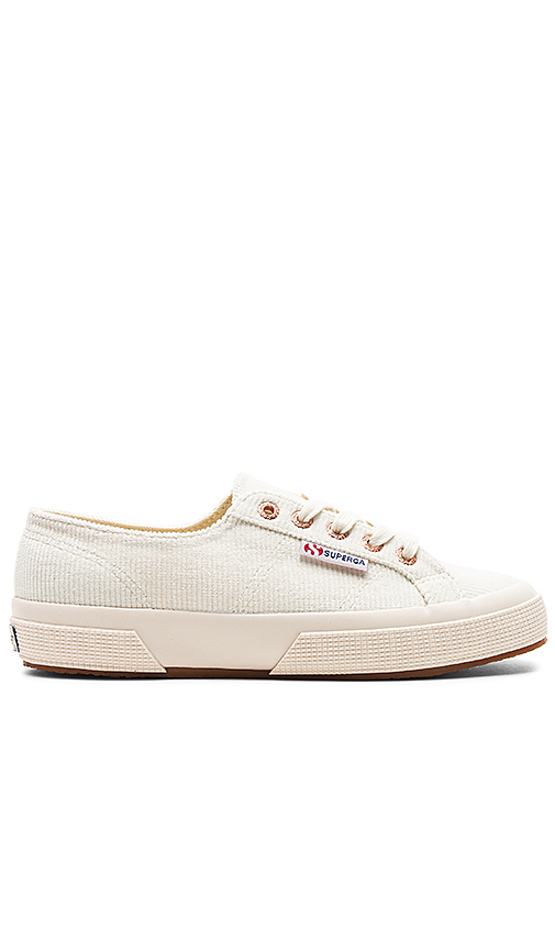 Superga 2750 Corduroy Sneaker in Ivory