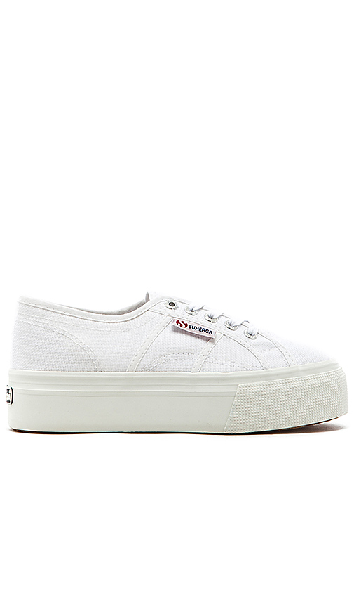 Superga 2790 Platform Sneaker in White