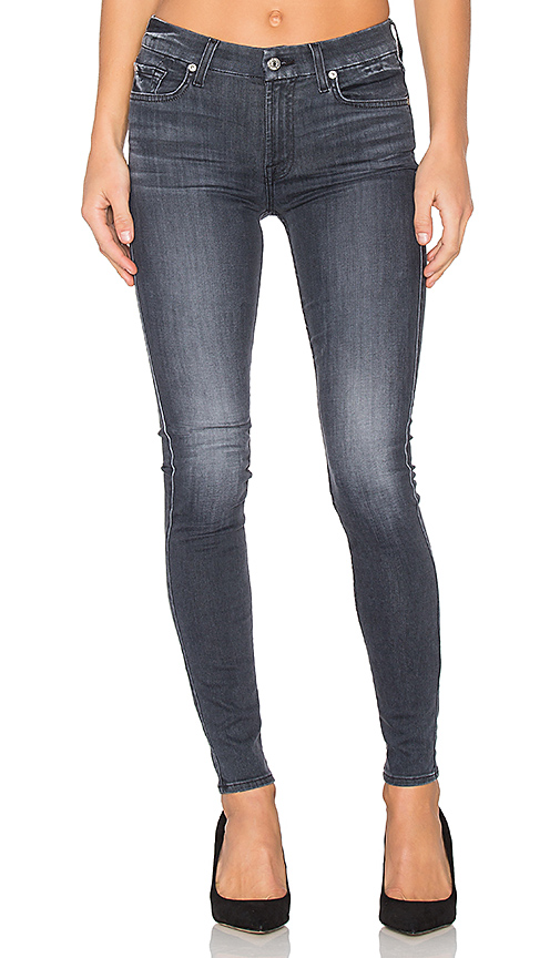7 For All Mankind The Contour Skinny. - size 24 (also in 30)