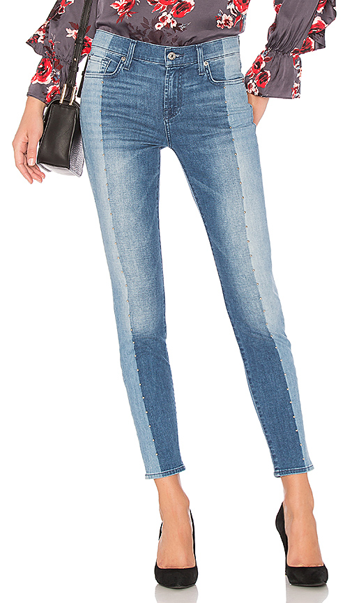7 For All Mankind The Ankle Skinny. - size 24 (also in 25,26,27,28,29,30)