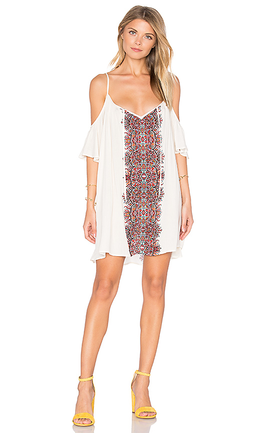 Show Me Your Mumu Bonaroo Dress in Ivory
