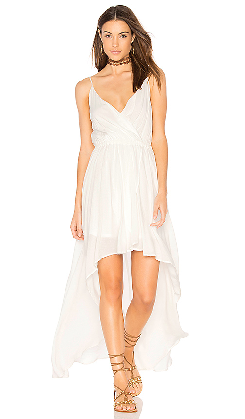 Show Me Your Mumu Molly Mullet Dress in White