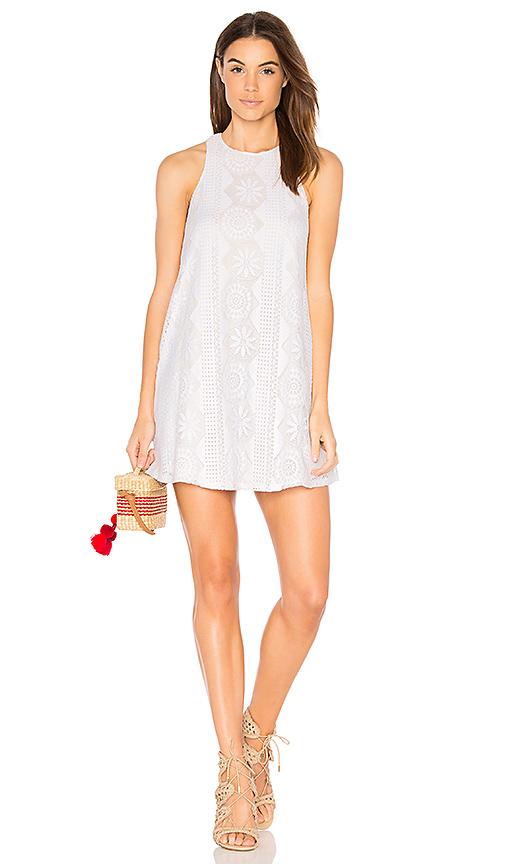 Show Me Your Mumu Ritzy Dress in White