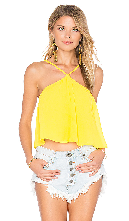 Show Me Your Mumu Lex Top in Yellow